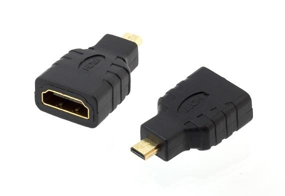 LED21 HD26 ADAPTER - REDUKCE HDMI MICRO HDMI GOLD